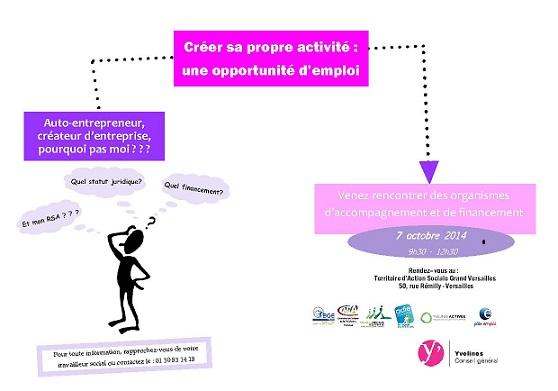La cration dentreprise une opportunit demploi bge 78 for Yvelines actives